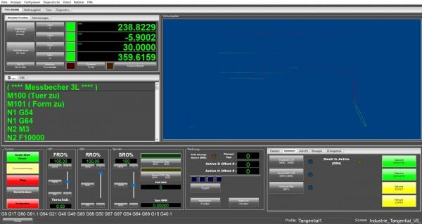Mach4 Software Tangential Gewerbe Version Deutsch
