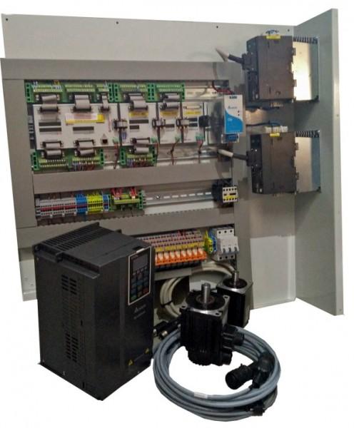 Servosteuerung Drehmaschine von 330 bis 460 mm Drehdurchmesser