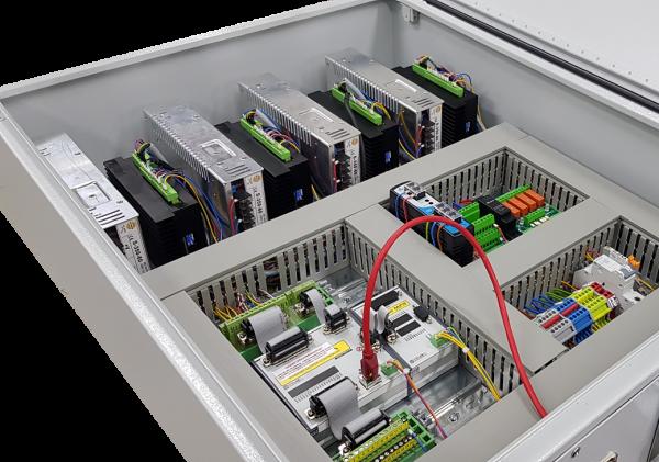 CNC Steuerung 3 Achsen mit 6 Ampere Endstufen 60 Volt