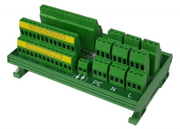 Spannungsverteiler 26 fach V2.0 230 Volt