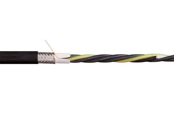 Kabel 4 x 4,0 mm² Geschirmt