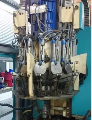 Werkzeugwechsler Makro zur Mach3 für ein Chiron Korbwechsler