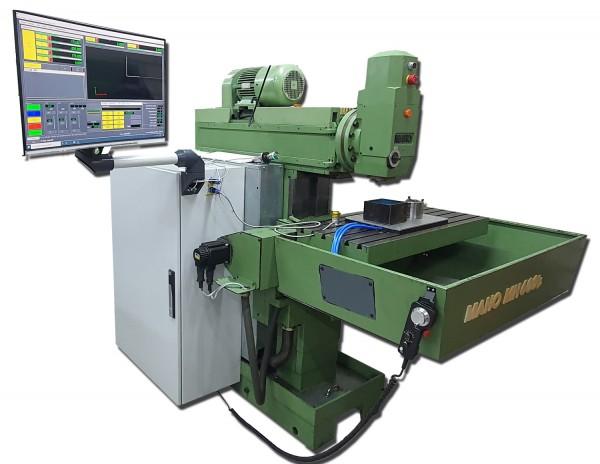 Retrofit für eine Maho 600 E Fräsmaschine