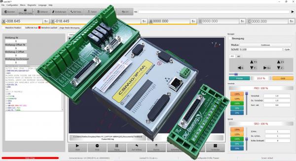 IP-M Steuerung komplett mit SIM CNC Fräsen