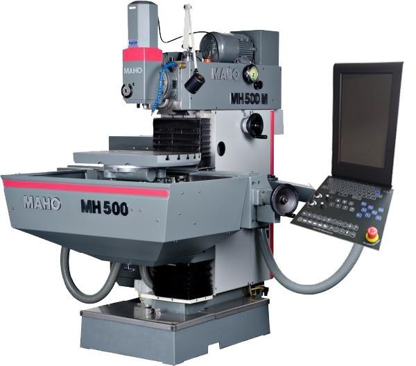 Retrofit für eine Maho 500 Fräsmaschine
