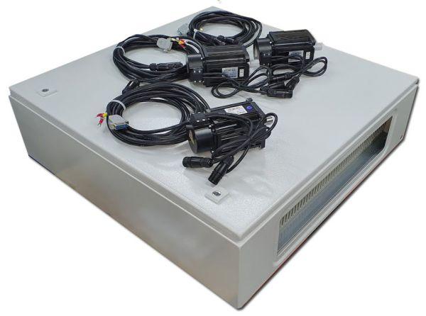 3x 750 Watt Servosteuerung mit IP-M