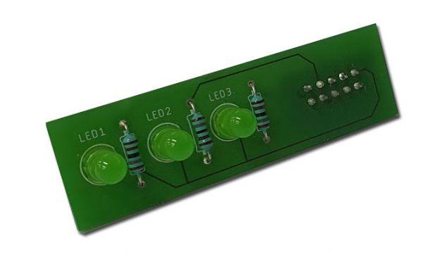 LED Platine für 4 fach Impulsgeber