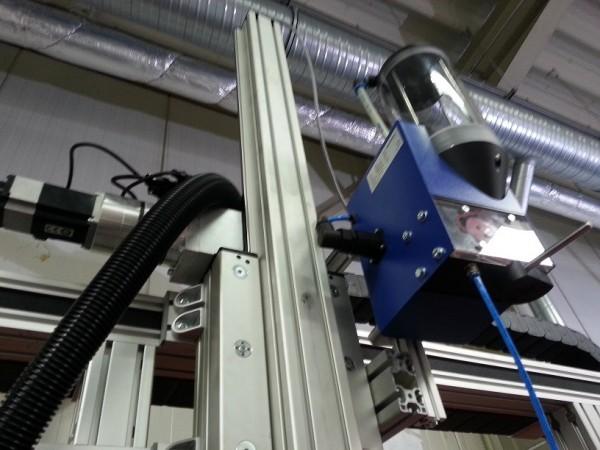 Beispiel an einer CNC Schweißmaschine für die Industrie