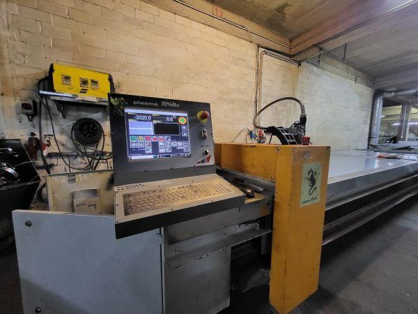 Plasma CNC Steuerung für eine CMS 3