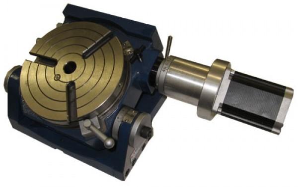 4. Achse - CNC Rundtisch HV 150 mm Durchmesser winkelverstellbar