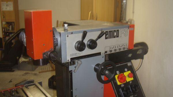 Retrofit Kit für eine EMCO F3 Fräsmaschine