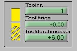 Werkzeugparameter