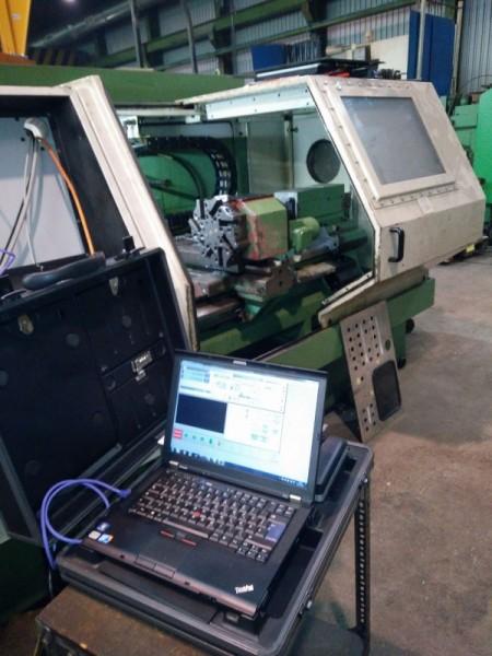 Retrofit einer Traub TD 350 Drehmaschine