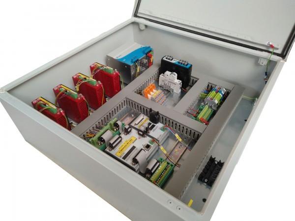 CNC Steuerung 3 Achsen mit 6 Ampere Endstufen 48 Volt