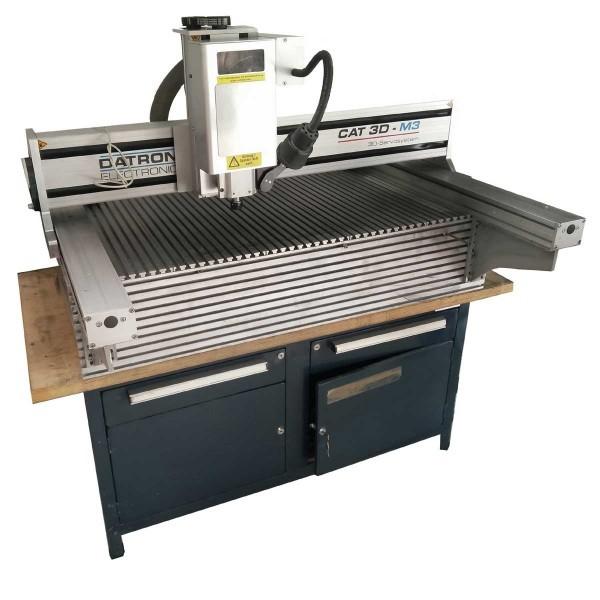 Retrofit einer Datron CNC Fräsmaschine