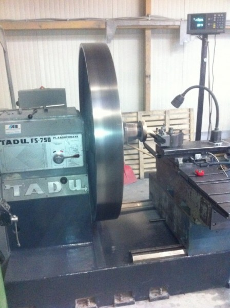 Retrofit einer Tadu Drehmaschine