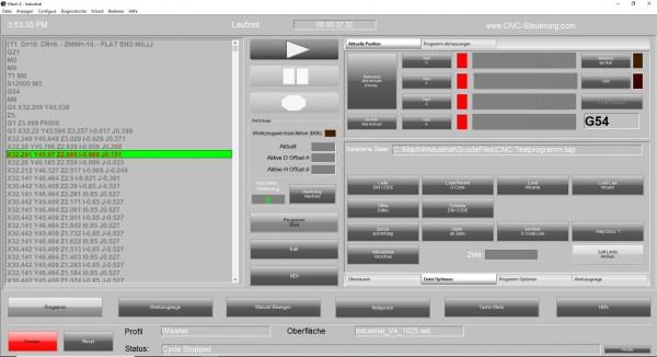 Mach4 Software Gewerbe Version Deutsch