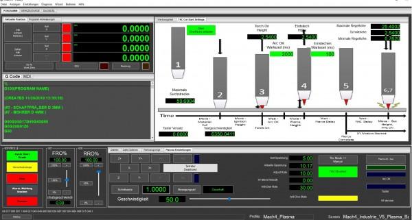Mach4 Software Plasma Gewerbe Version Deutsch