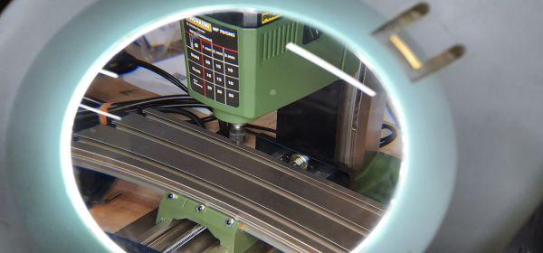 Steuerung für eine Proxxon MF 70 Fräsmaschine