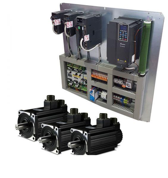 Retrofit für eine Deckel Fräsmaschine mit PC System